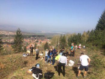 """Проект """"Нашата гора"""" в местността Кладница"""